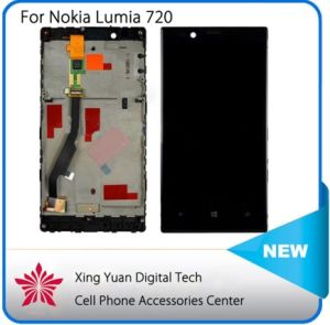 LCD Display Touch Digitizer Screen Assembly for Nokia Lumia 720