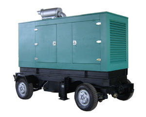 10-300GFT Movable Trailer Diesel Generator Set