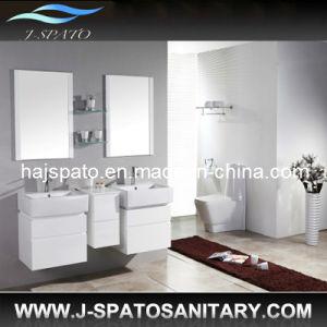 Hanging Wooden Morden Bathroom Vanities (JS-9013)