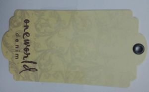 China Factory High Quality Paper Label for Bag Garment pictures & photos