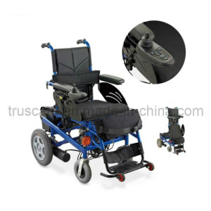 Electric Power Wheelchair with CE&ISO Approved (Spray power / Aluminum Frame) pictures & photos