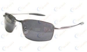 Sunglasses With Square Frames & Spring Hinges (1116)