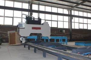 Mj3706 Portable Track CNC Control Horizontal Woodworking Combined Band Saw pictures & photos