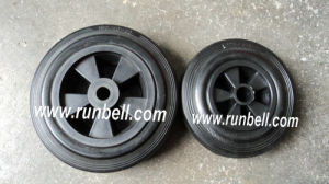 Rubber Solid Wheel for Garbage Bin (SR1522)