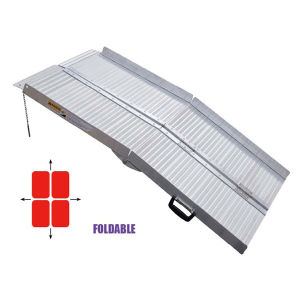 Aluminum Loading Wheelchair Ramp (220440-220410) pictures & photos