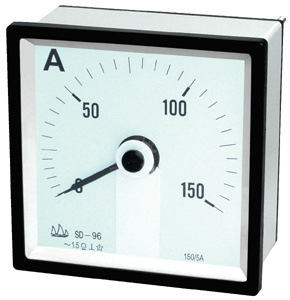 96 240° Moving Instrument DC Ammeter with CE pictures & photos