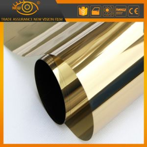2 Ply Gold Reflective Solar Control Building Window Tint Film pictures & photos
