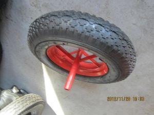 Wheelbarrow 4.00-8 Diamond Rubber Wheel pictures & photos