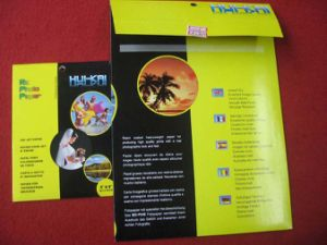 RC Nonwaterproof High Glossy Photo Paper 220g