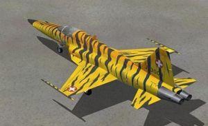 RC Plane Model F5e (ST-D03D)