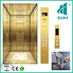 FUJI Type Passenger Lift with Good Quality Low Price Gearless Traction Machine Elevator Manufacturer pictures & photos