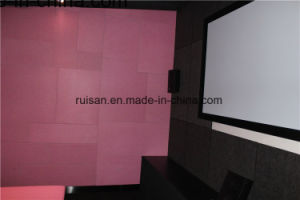 9mm Polyester Fibre Acoustic Panel for Movie Theater pictures & photos