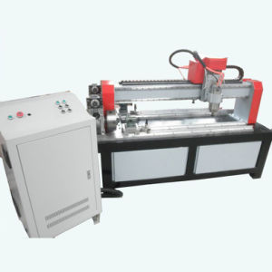 Two Heads CNC Router Machines for Cylinrical Materials----(JCUT-1200X-2)