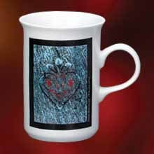 Flare Shaped Mug, 10oz pictures & photos