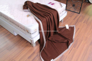 Woven Woolen Pure Virgin Wool Blanket (NMQ-WB001B) pictures & photos