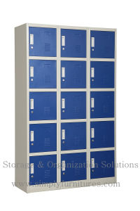 School Locker with 24 Doors pictures & photos