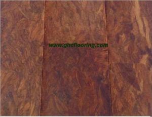 Teak-Like Strand Woven Bamboo Flooring, Matt Finished (BG-D06)