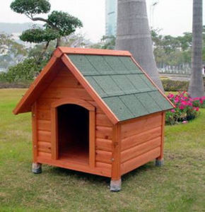 New Wooden Large Outdoor Pet Dog House pictures & photos