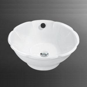 Porcelain Bathroom Vessel Sink (6053)