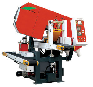 Horizontal Band Saw (45 Degree Inclinable) (JSM250Q) pictures & photos