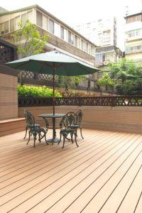Outdoor Flooring, Wood Plastic Composite Floor, WPC Deck pictures & photos