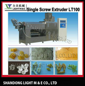 Single Screw Extruder (LT100) & Pellet Snacks Extrusion Making Machine pictures & photos