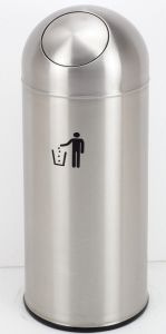 High Quality Indoor Stainless Steel Trash Bin (SB168-1) pictures & photos