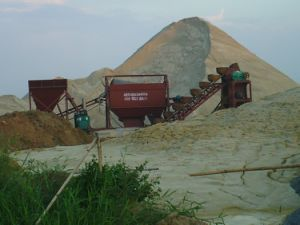 Sand Washing Machine with Bucket
