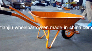 Stainless Steel Handle Dubai Wheel Barrow (WB6400) pictures & photos