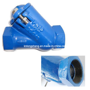 Ductile Iron Threaded End Ball Check Valve pictures & photos