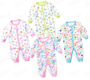 Customize Unisex Lovely Soft Cotton Comfortable Baby Romper pictures & photos