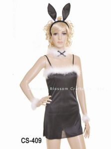 Halloween Costume/Party Costume/Bunny Girl Costume (CS-409)