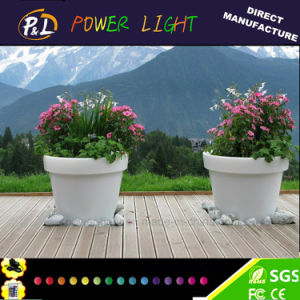 Illuminated Light up Home Garden LED Flower Pot pictures & photos