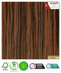 Recon Ebony Wood Veneer with Fsc Certification