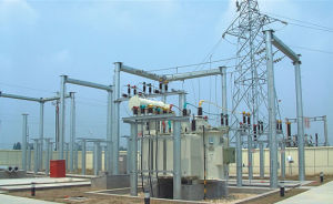 ISO Electrical Substation Structure
