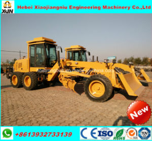 130HP Mini Motor Grader with Cummins Engine AC and RoHS Cabin Py9130 pictures & photos