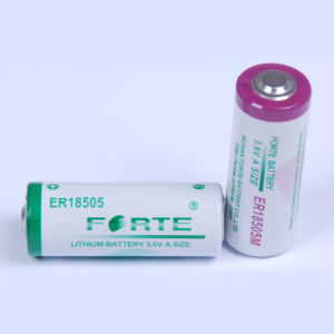 3.6V Battery Er18505 Er18505h AA Size pictures & photos