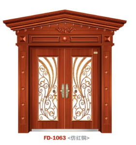 Entrance Door China Security Steel Door (FD-1063) pictures & photos