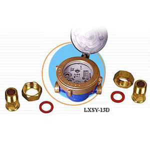 Water Meter 13mm Rotary Vane Wheel Liquid-Sealed Single-Jet(LXSY-13D)