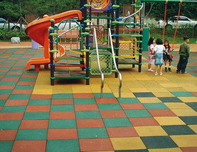 Outdoor Playground Rubber Mat (LT-RM25)