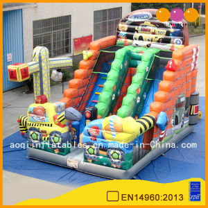 Constructing Vehicle Inflatable Standard Slide (AQ0141-8) pictures & photos