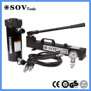 Cheap Double Acting Hollow Plunger Engineering Hydraulic Cylinder (SV22Y) pictures & photos
