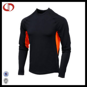Wholesale Mens Dri Fit Long Sleeve Running Tights Design pictures & photos