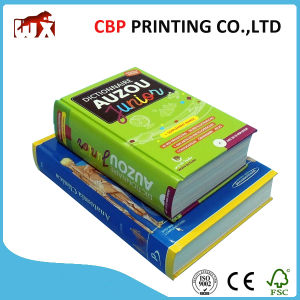 Custom Colorful Catalogue Hardcover Book Printing