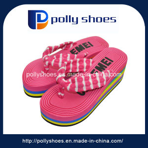 New Design Colorful Fabric Strap Fashion Slipper pictures & photos