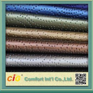 Synthetic Leather PU Leather Uphostery Leather for Sofa Chairs (DE90 AR107) pictures & photos