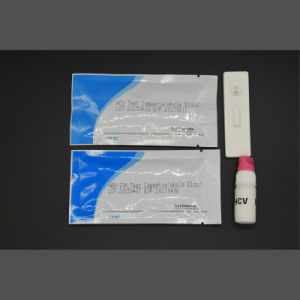 One Step HCV Rapid Test Kit (Colloidal Gold) pictures & photos