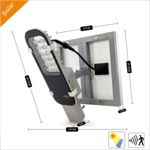 12W Solar Garden/Street Lights with LED for Outdoor Lighting