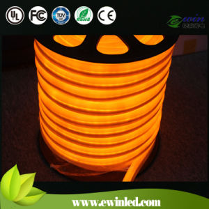 Yellow Mini 24V Soft Neon LED with 80LED Per Meter, CE RoHS Approval pictures & photos