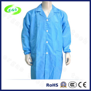 Polyester Blue ESD Antistatic Clothes (EGS-20) pictures & photos